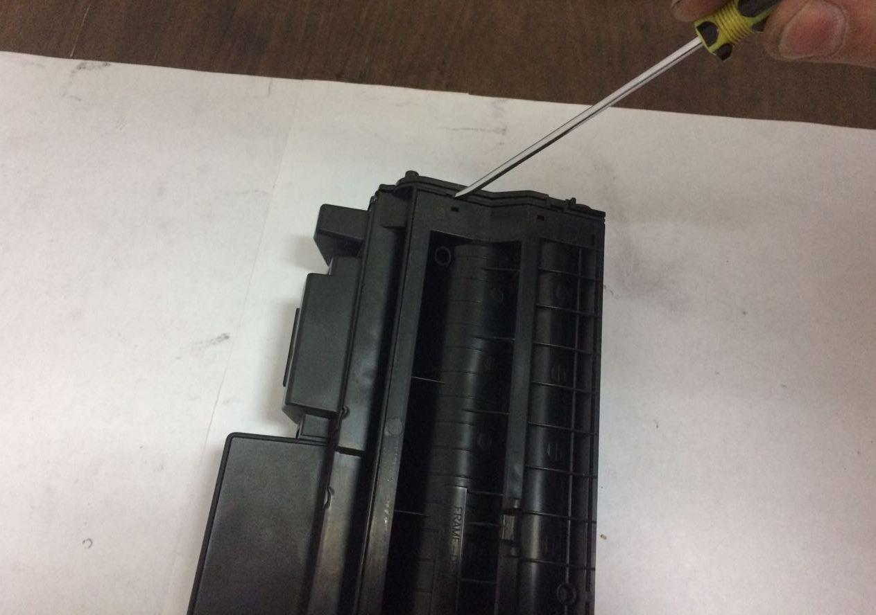 инструкция по востановлению заряжающего вала xerox 4118